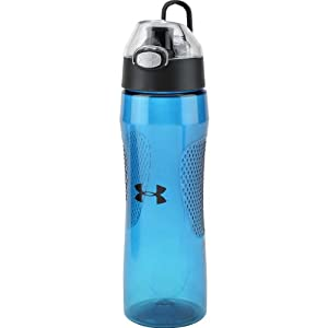 Under Armour Elevate 22 Ounce Tritan Bottle with Flip Top Lid, Teal