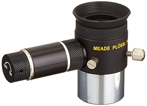 Meade Instruments 07068 Plossl 9-Millimeter Eyepiece with 1.25-Inch Cordless Illuminated Reticle (Black)