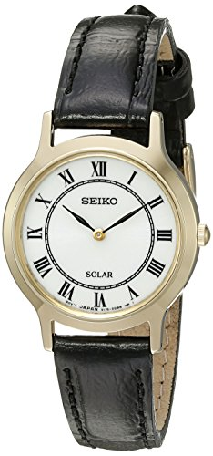 Seiko Women's 'Ladies Dress' Quartz Stainless Steel Dress Watch (Model: SUP304)