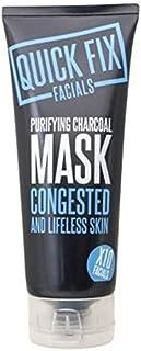 Quick Fix Facial Purifying Charcoal Mask 100ml - クイックフィックスフェイシャル浄化炭マスク100ミリリットル (Quick Fix Facials) [並行輸入品]