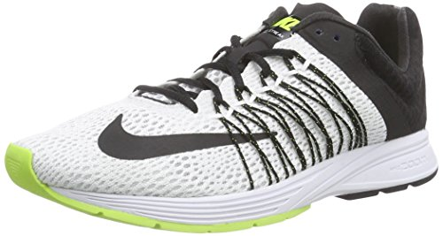 Nike Unisex-Erwachsene Air Zoom Streak 5 Laufschuhe, Weiß (White/Black-Volt 107), 40.5 EU