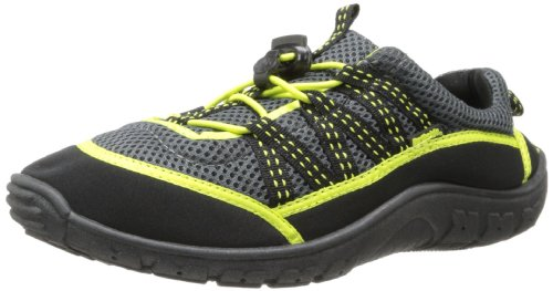 Northside Unisex Brille II Athletic Water Shoe,Grey/Lime,7M US