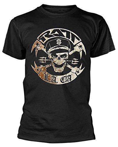 RATT 'Vintage RATT Biker' T-Shirt (Small) Black