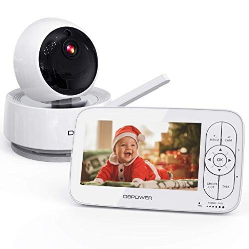 DBPOWER Video Baby Monitor, 720P 5