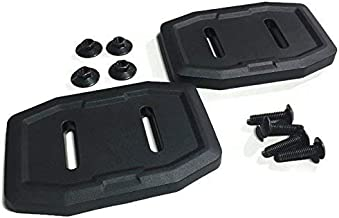 Set of 2 Genuine Husqvarna 583838801 Composite Skid Shoe OEM with Hardware