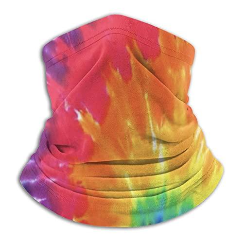 Más cálido cuello Polaina Tie-Dye Color Mascarilla Para Hombres Mujeres Bandanas Para Pesca Caza Deportes