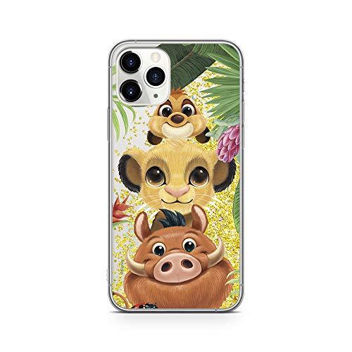 Ert Group DPCSIMBF1951 Custodia per Cellulare, Disney Simba and Friends 003, iPhone 11 Pro, Multicolore