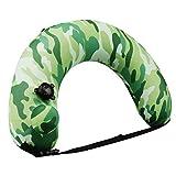 Omont Portable Swim Trainer Swimming Belt for Kids Adults, Inflatable Swimming Ring for Kids Pool Float, Multifunctional U Shaped Neck/Waist Pillow for Travel travel neck pillow inflatable Jan, 2021