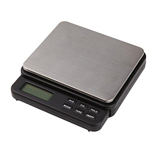 Hoosiwee Báscula Digitales de Precisión, 1000g 0.01g Balanzas de Portátiles, Báscula de...
