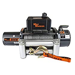 in budget affordable Mile Marker 77-50141 WSEC8 (ES) Sealed Truck / Jeep / SUV Electric Winch – 8000 lbs. Load capacity, …