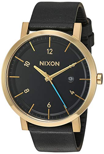 Nixon Men's A945513 Rollo Analog Display Japanese Quartz Black Watch