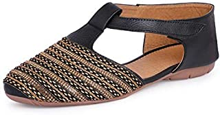 HD Women's Leather Fashion Shoes Cum Bellies Synthetic Material