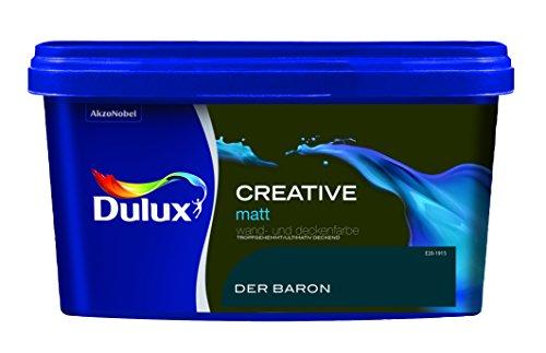 Dulux Creative Wand- und Deckenfarbe, Der Baron Matt