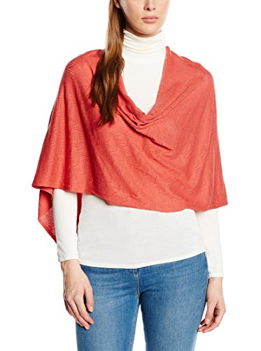 TOM TAILOR Damen 02201220970 Poncho, Rosa (Faded Rose 4661), One Size