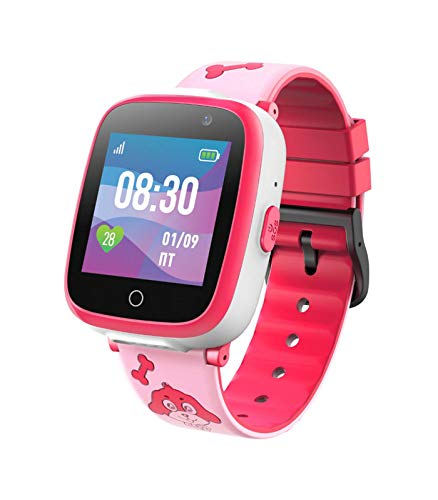 Kids Smart Watch Digital Camera Watch with Games, 1.54inch Touch Smartwatch Supports Phone Call, Music Player, Alarm, for Boys Girls Birthday Electronic Gift