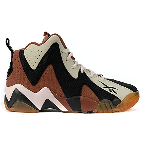 Reebok Men's Kamikaze 2 Jack-o-Kaze Basketball Shoes, Black/Brown/Orange, Size 8