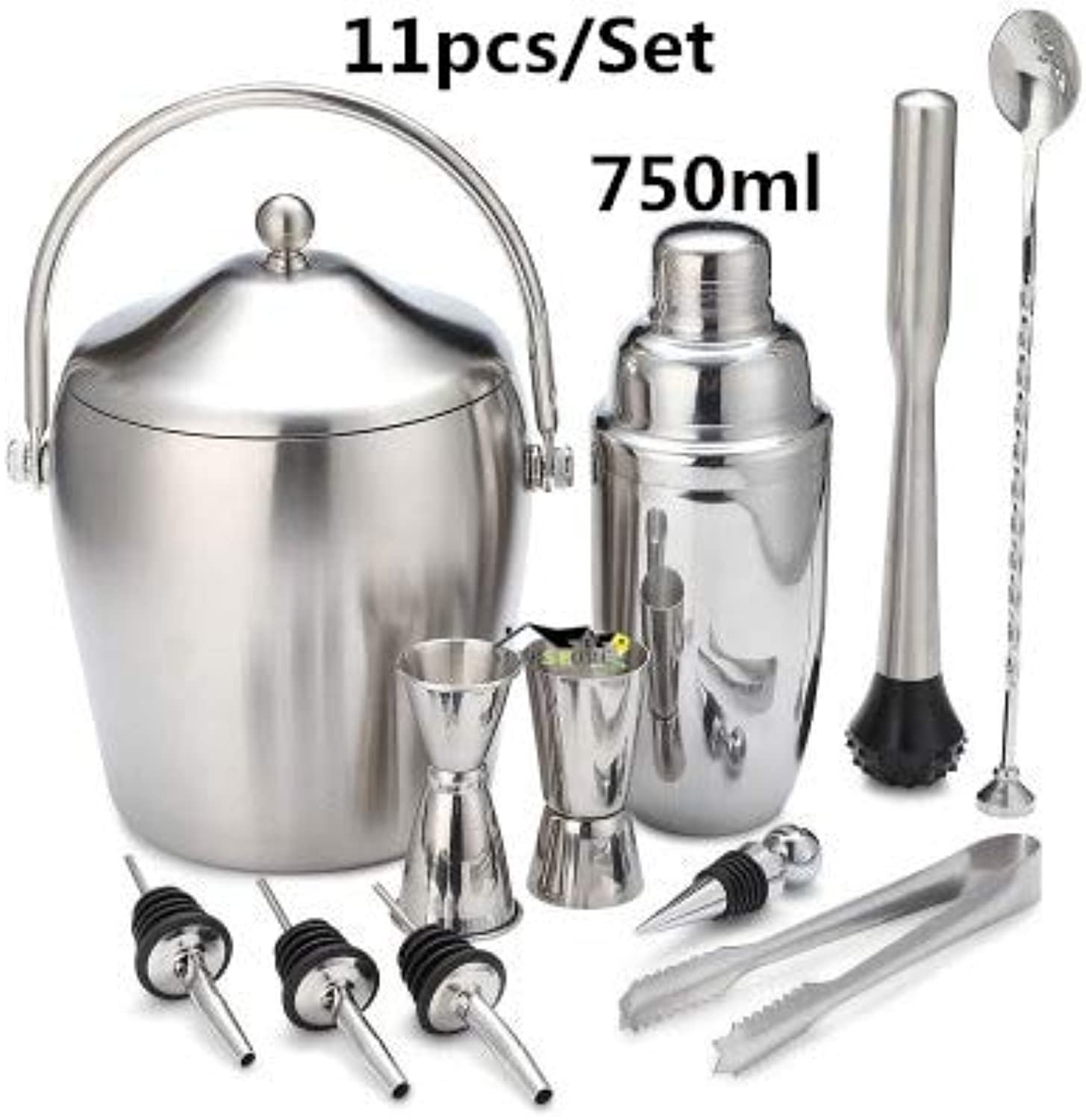 Bar Sets Stainless Steel Lounge Cup Boston Cup Shaker Cocktail Shaker Bar Tools   18