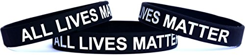 SayitBands 1 All Lives Matter Silicone Wristband