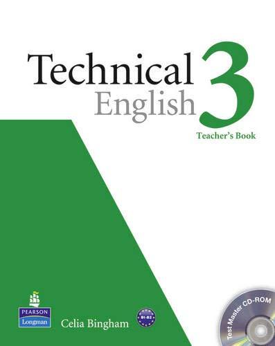 Technical english. Teacher's book-Test master. Per le Scuole superiori. Con CD-ROM: Technical English Level 3 Teacher's Book/Test Master CD-ROM Pack: Industrial Ecology