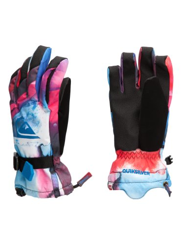 Quiksilver - Gants de Ski Metro Gloves JR Pony UP 13 - S S Multicolore - Multicolore
