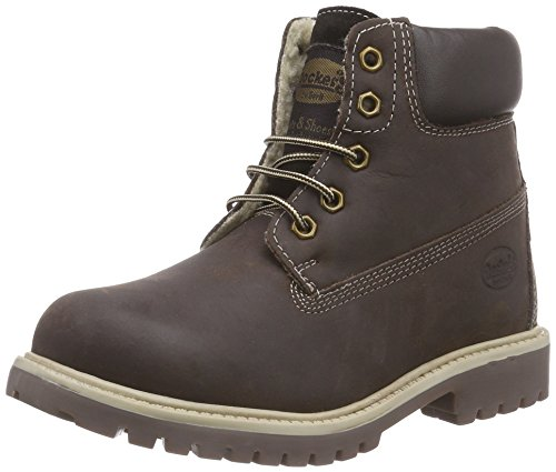 Dockers by Gerli 35FN701-400 Combat Boots, Braun (cafe 320), 38 EU