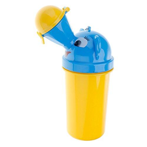 VANKER Voyage Camping voiture bébé portable enfant pee Potty Urinoir d'urgence WC citronier