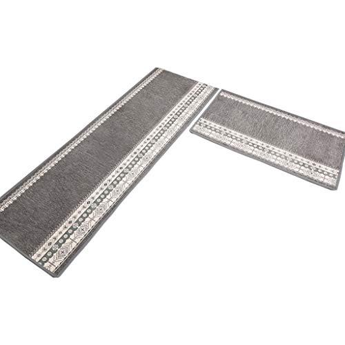 WWTCLL tapijtloper voor de keuken in huis, modern, eenvoudig, voor de keuken, 50 x 65 cm + 50 x 120 cm