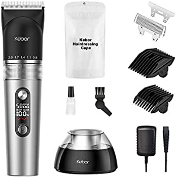 Kebor Electric Wireless Mens Cordless Self Trimmer Kit