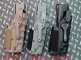 Wisha Funda Universal de Cintura para Pistola Safariland marrón