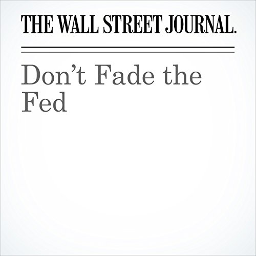 Don't Fade the Fed cover art