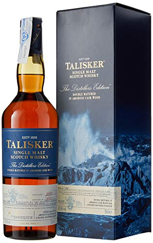Talisker Distiller's Edition Premium Single Malt Scotch Whisky con caja de regalo - 70 cl