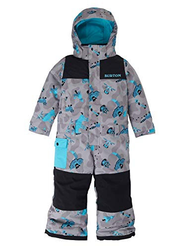 Burton Jungen Minishred Striker Snowboard Overall, Hide and Seek, 4T