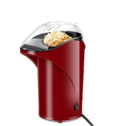 UKKD Hot Air Popcorn Maker Machine, Popcorn Popper for Home, BPA-Free, No Oil, Healthy Snack for Kids Adults, Perfect for Party Birthday Gift