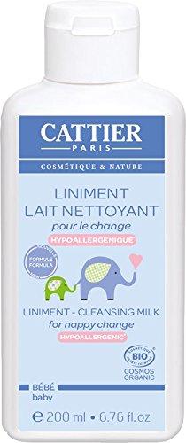 CATTIER Liniment Lait Nettoyant 200 ml - Lot de 2