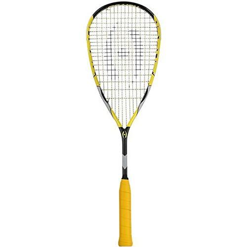 Harrow 65790215 2016 - Raqueta de Squash de Choque, Color Negro y Amarillo
