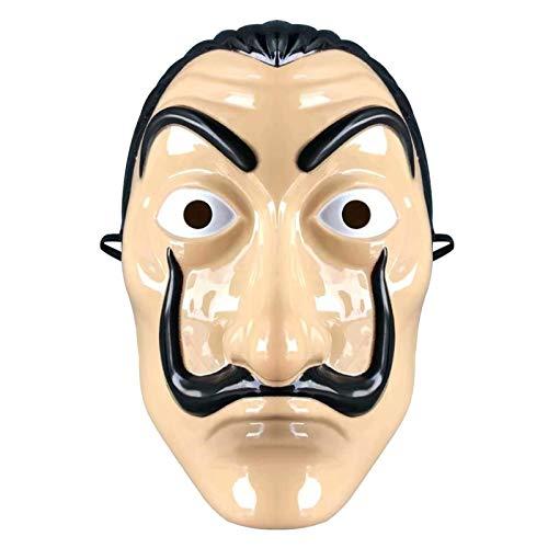 Clyhon Maske Salvador Maske Latexmaske La CASA de Papel Reality Maske Neuheit Cosplay...