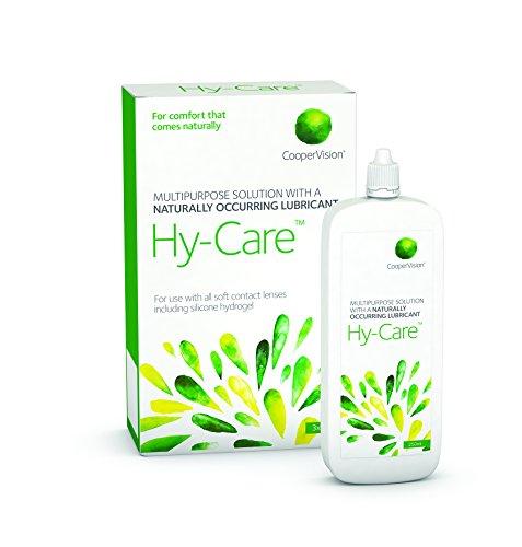 Kontaktlinsenlösung CooperVision Hy Care für 3 Monate 3 x 250ml mit einem Kontaktlinsensauger Empfohlener Ersatz für die Lösung Synergi