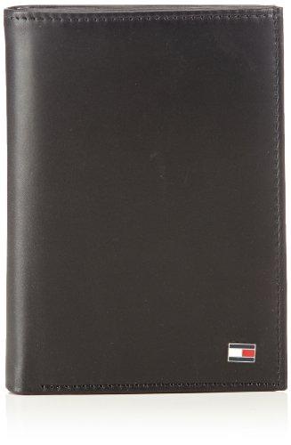 Tommy Hilfiger Eton N/S Wallet W/Coin Pocket, Portafoglio Uomo, Nero (Schwarz (Black 990), 10x13x2 cm