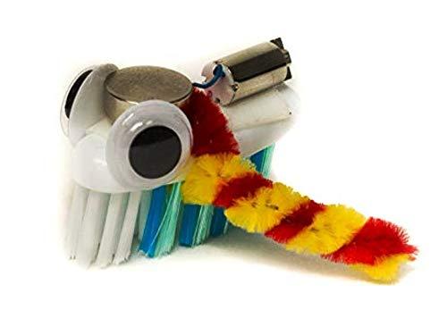 Brown Dog Gadgets - BRISTLEBOT KIT - 10 Pack - Educational STEM Building Kits for Kids
