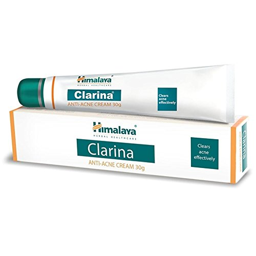 2 x Himalaya Clarina Anti-Acne Cream 30g Clears Acne BUY 3