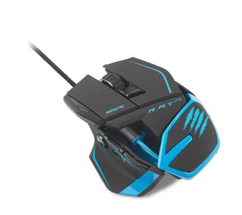 Mad Catz R.A.T. RAT TE Tournament Edition Gaming Mouse Black 8200dpi MC-RTE-MB