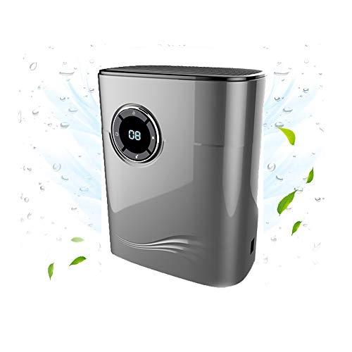 Deumidificatore elettrico compatto portatile da 42 W 1.2L, assorbitore di umidità a asciugatura, deumidificazione ultra silenziosa, CE/FCC/CCC/PSE