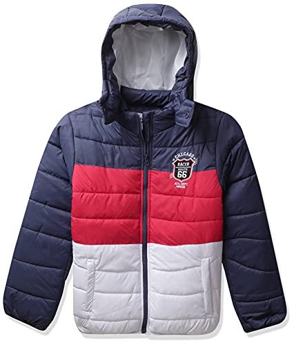 Amazon Brand - Jam & Honey Boy's Regular fit Jacket (JHAW20BJK014_Red_2-3 Years)