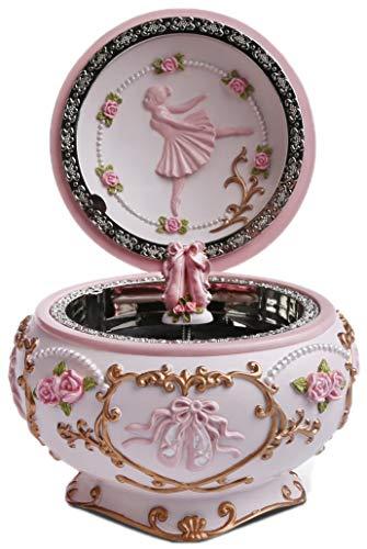 J JHOUSELIFESTYLE Anastasia caja de música, zapatos de ballet giratorios como la...