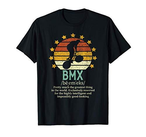 BMX Definition | Bike Riding | MX Bicycle Rider Gift T-Shirt