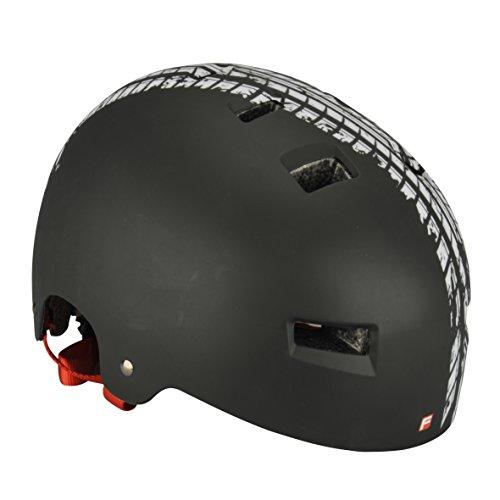 FISCHER Fahrradhelm Erwachsene BMX, Mountainbikehelm, Verstellbarer Radhelm, Skatehelm