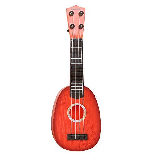 Giocattolo per bambini Ukulele, Mycreator kids mini strumento musicale 4 chitarra ukulele xilofono giocattoli educativi con scatola regalo di Natale regalo di compleanno per 2 - 4 anni bambini