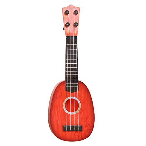 Juguete para ukelele para niños, juguetes para niños MyCreator, divertidos 4 cuerdas guitarra xilófono ukelele juguetes con caja de regalo de Navidad regalo de cumpleaños para niños de 2 a 4 años