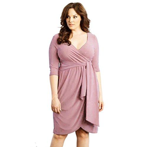 SHOBDW Vestido de Mujer Causal Vestidos de Mini de para Mujeres Medio...
