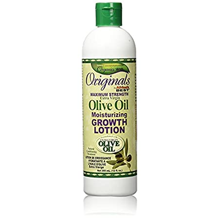 Beauty Shopping Africas Best Orig Olive Oil Max Strength Grow Lotion 12 Ounce (355ml)